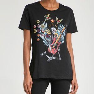 Zadig & Voltaire Walky Bis t-shirt in black